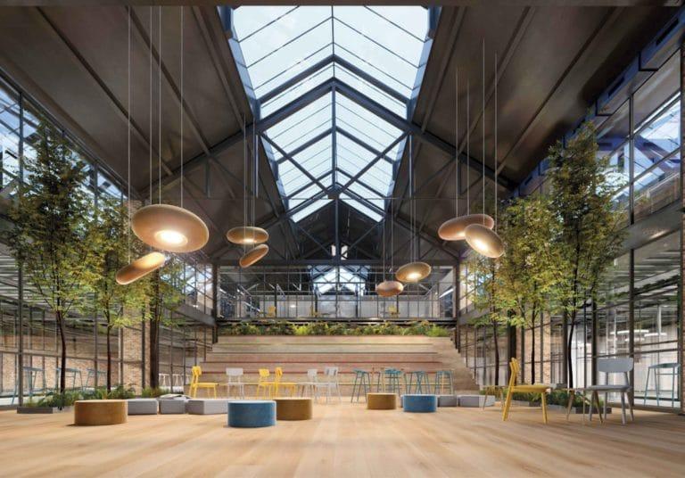 Comienza la transformación de La Centrifugadora, un antiguo edificio industrial valenciano en el Grao