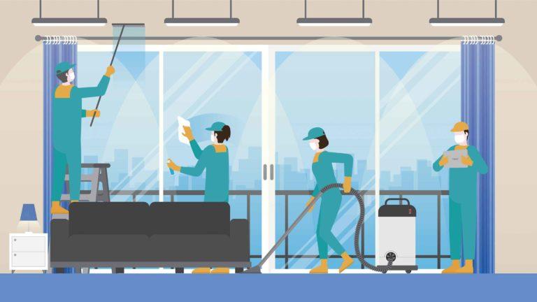 7 preguntas que debes hacer al contratar un servicio de limpieza comercial