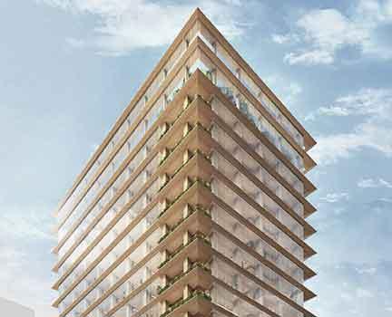 El edificio de madera más alto de Japón estará en Tokio